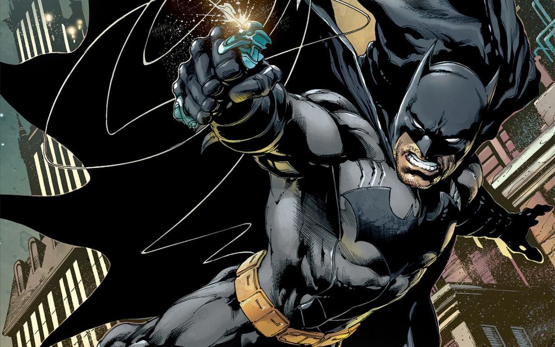 Batman grappling hook cartoon