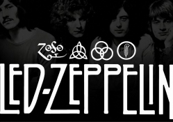 Led Zeppelin logo symbol and members