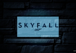 Skyfall glowing wallpaper (HD)