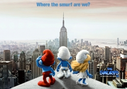 smurfs, city, new york