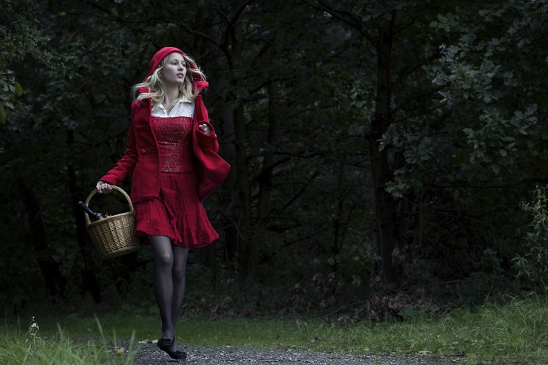 Little Red Riding Hood Download HD Wallpapers and Free Image