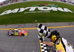 And the winner of the Daytona 500 is
