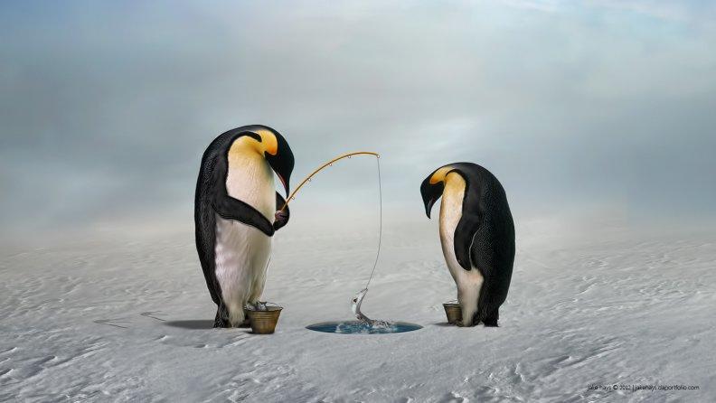 Разнорыбица кошкам, или Как я становлюсь пингвином