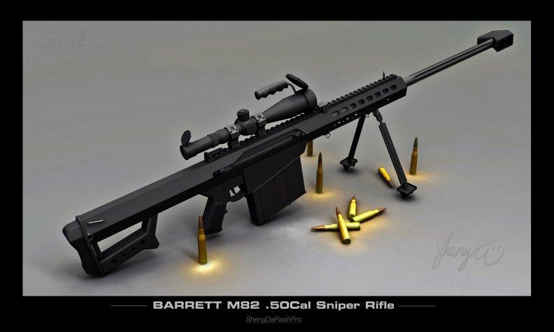 Barrett M82 .50 Cal Sniper Rifle Download HD Wallpapers ...