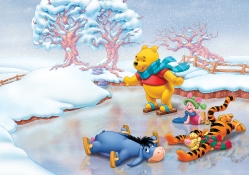 Winnie the Poo at Christmas