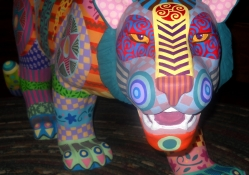 Folk Art Tiger