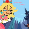 Total island drama: Princess Peach