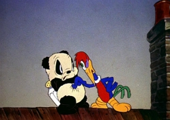 Woody Woodpecker and Andy Panda