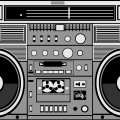 Boombox Desktop Wallpaper
