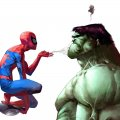 spiderman vs hulk
