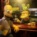 simpson and friend