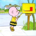 charlie brown mailbox