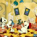 snoopy with rowdy beagle relatives