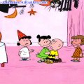 charlie brown halloween party
