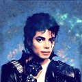 Blue Michael Jackson wallpaper