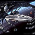 Star Trek NX01 in Space Dock