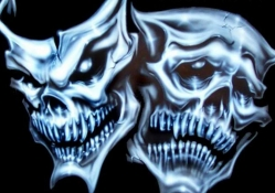 Sinister Theatrical Masks