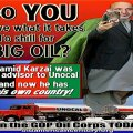 karzai big oil shill