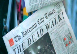 Raccoon City Newspaper _ Resident Evil