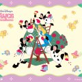 disney alice in the wonderland christmas tree xmas merry decorate decorating