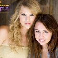 Miley Cyrus and Taylor Swift