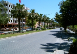 Alanya city in Turkey