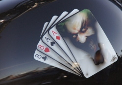 Devil On A Playing Card