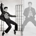 Elvis Presley doin the Jailhouse Rock