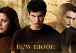 BELLA,JACOB and EDWARD in NEW MOON