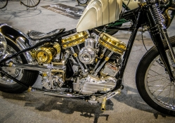 Gold Plated Harley