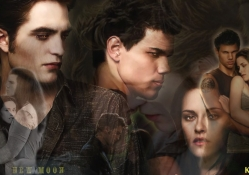 Twilight _ Jacob, Bella and Edward
