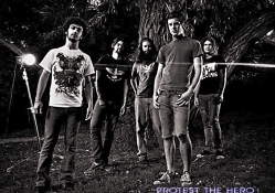 Protest The Hero In Black and White