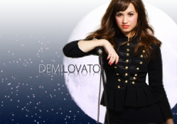 Demi and the moon