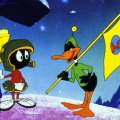Daffy Duck and Marvin Martian