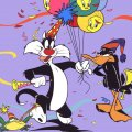 Sylvester and Daffy Duck