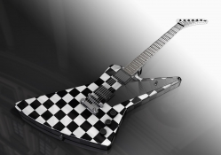 Gibson Explorer Checkered