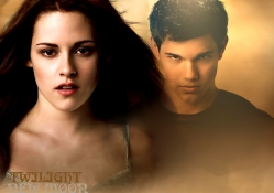Twilight:New Moon_Bella & Jacob