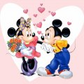 Micky and Minnie Wallpaper  disney5561259 1024768