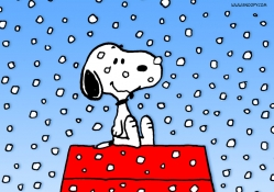 Snowing Snoopy