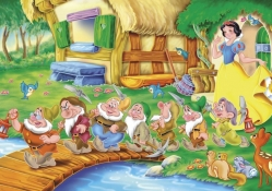 Snow White and the Seven Darfs Wallpaper