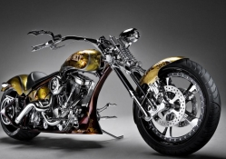 Gold chopper
