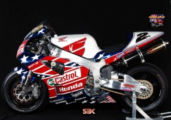 Red,White,Blue Honda