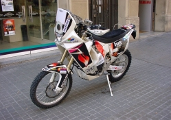 Yamaha Dakar Bike