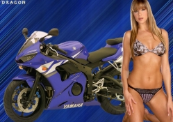 Model with Yamaha
