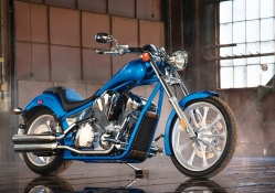 2010 Blue Honda Fury