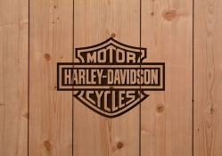 Harley_Davidson Wood Work