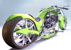 DRAGON 2C CHOPPER CONCEPT