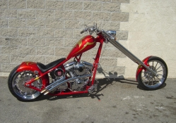 Red Street Chopper