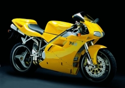 Ducati yes its yellow