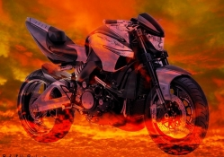 suzuki b_king hell bike